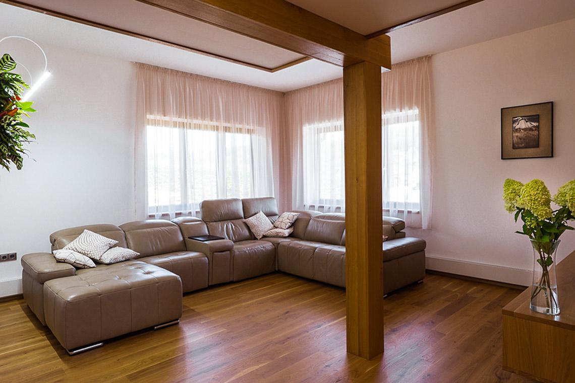 Návrh interiéru obývací pokoj
