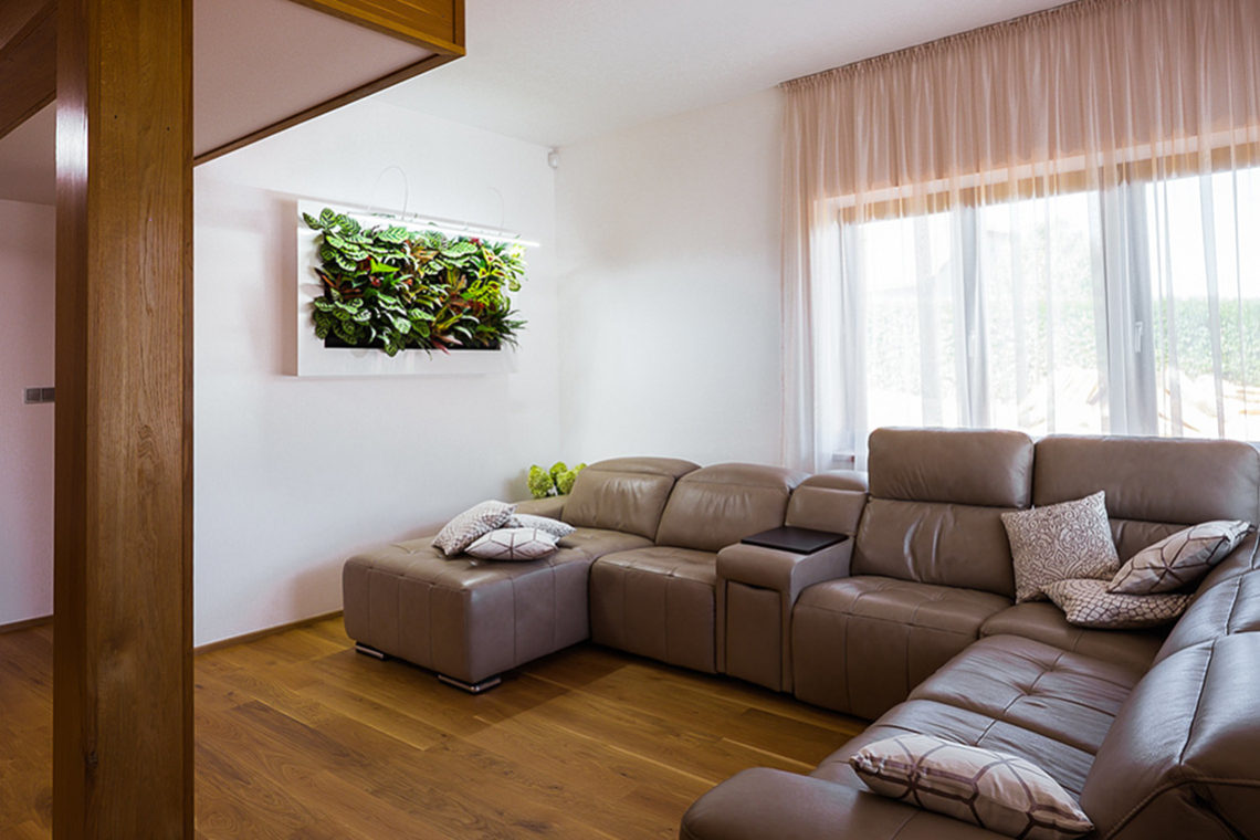 Feng Shui interiér obývák