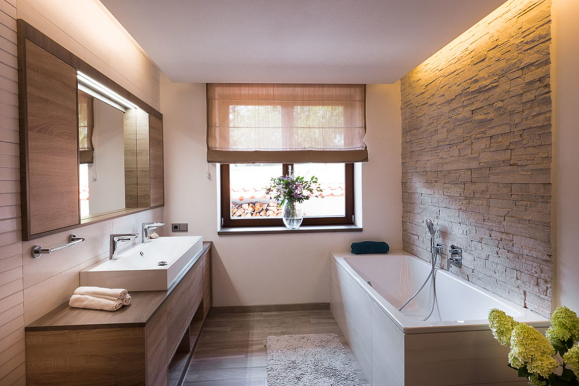 Návrh interiéru koupelna