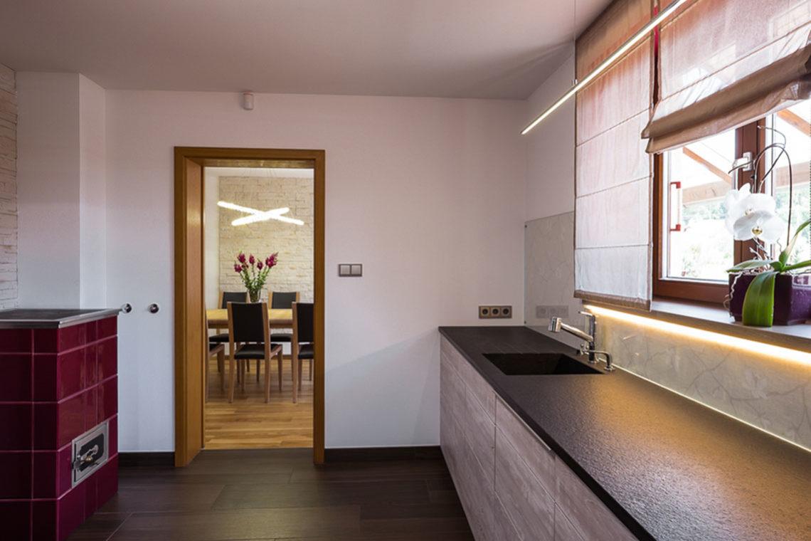 Návrh interiéru kuchyň