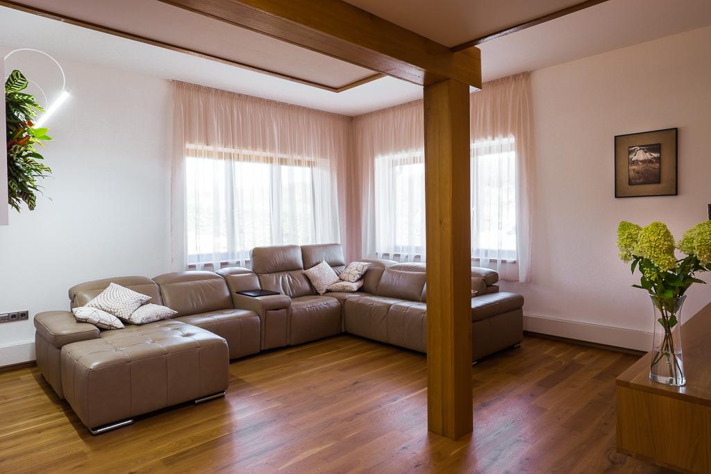 Feng Shui obývací pokoj - realizace