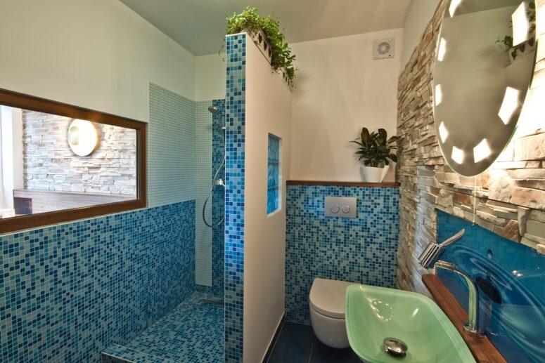 Koupelna v severním sektoru